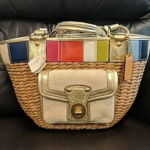 Coach legacy hand bag